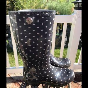 ⚡️Final Price⚡️ Preloved 9 Ugg polka dot boots